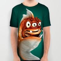 Evil fish shirt
