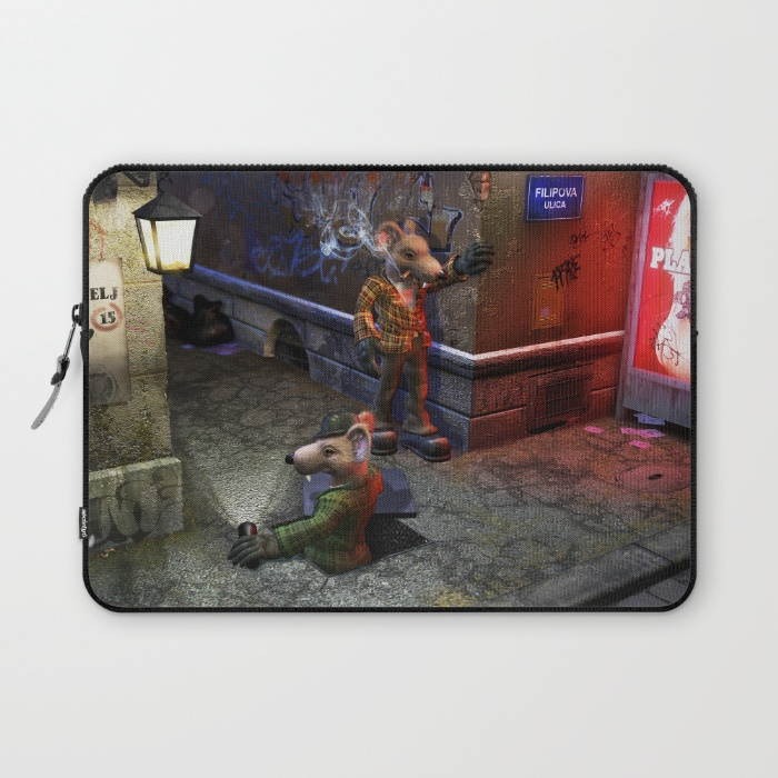 Izbavitelj - laptop sleeve
